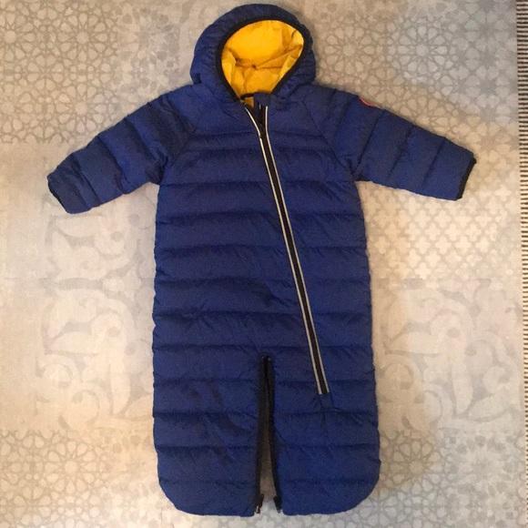 Canada Goose baby boy snowsuit, 12-18 months